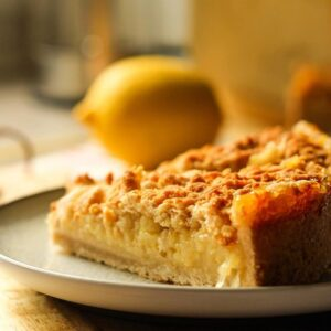 Лимонный пирог «Контраст»